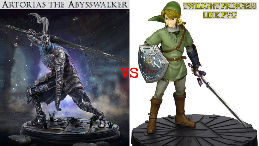 Artorias the Abysswalker vs. TP Link PVC