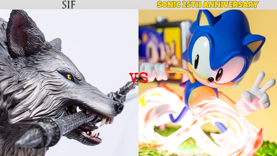 Sif vs. Sonic 25th Anniversary
