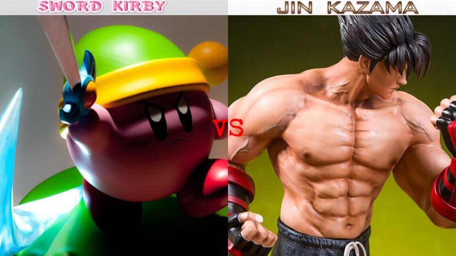 Sword Kirby vs. Jin Kazama (Tekken 3)