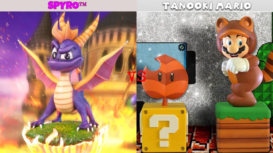 Spyro™ vs. Tanooki Mario