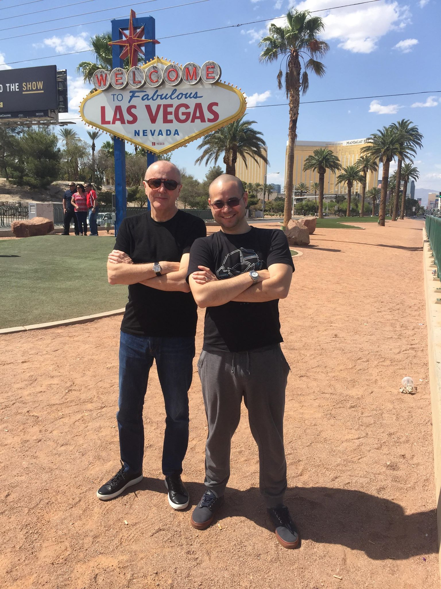 Welcome to Las Vegas, Alex and John!