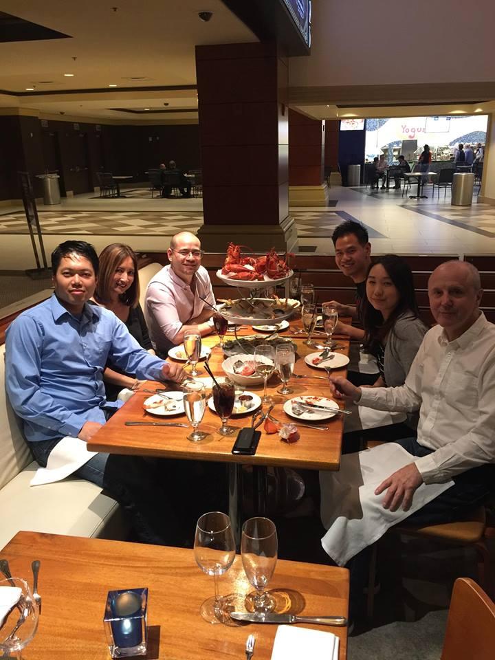 Dinner with Capcom Team