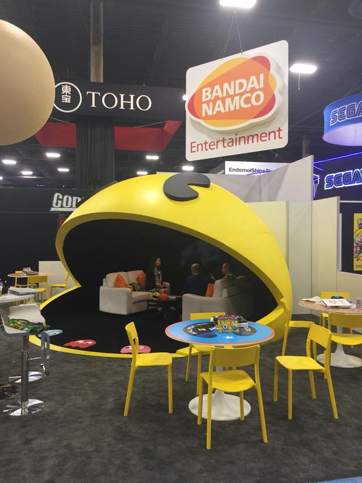 Pac-Man Booth