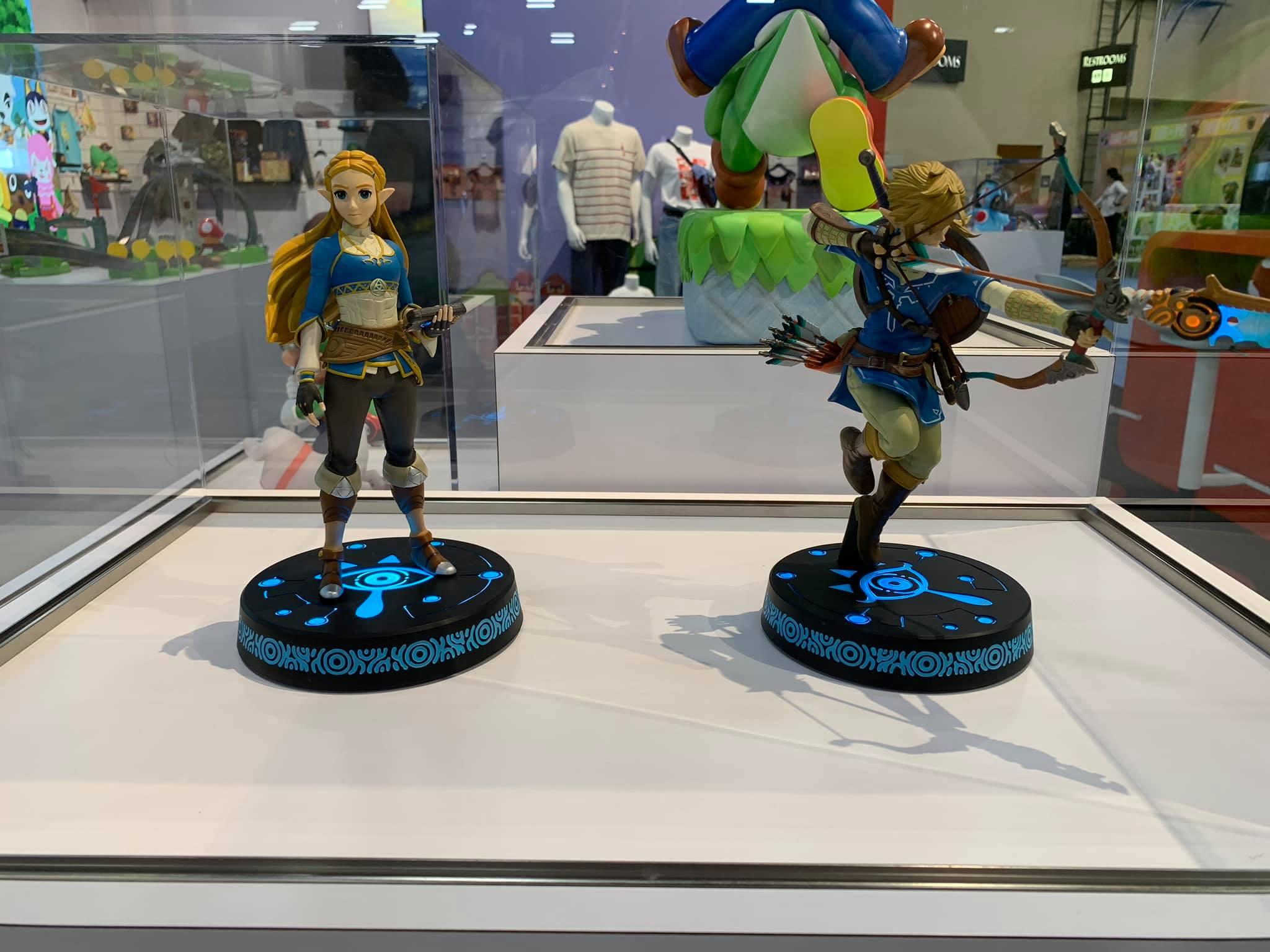 Breath of the Wild Zelda & Link PVC