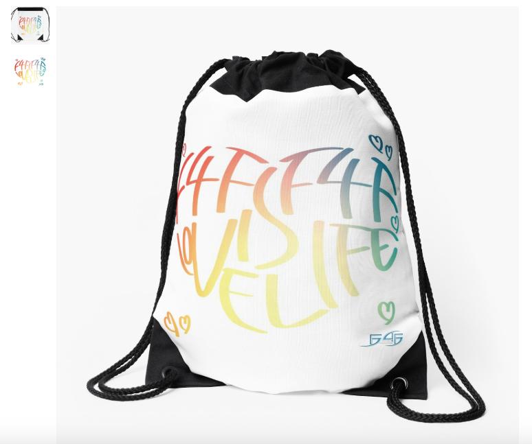 F4F Drawstring bag