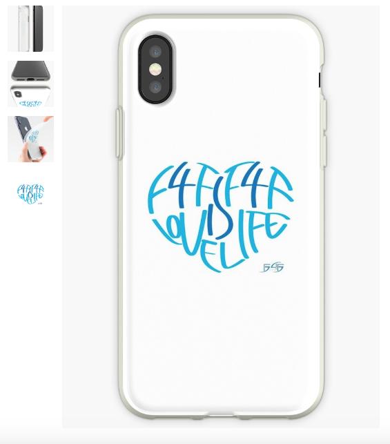 F4F iPhone Case