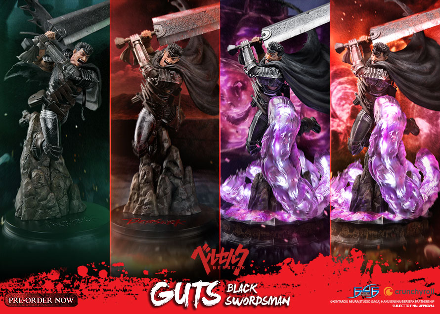 Guts: The Black Swordsman Launch