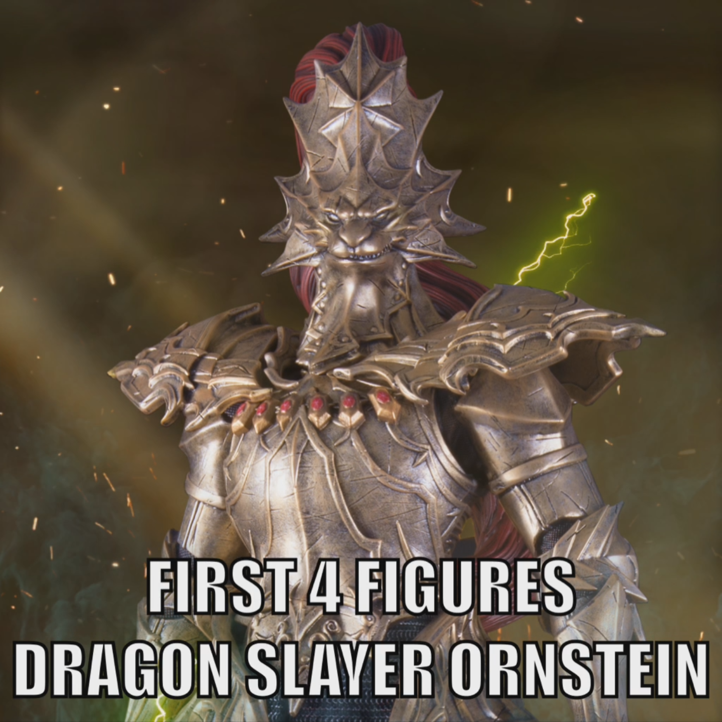 Dragon Slayer Ornstein Facebook Avatar