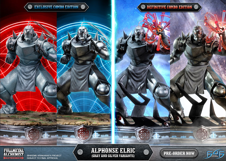 Alphonse Elric pre-order STILL OPEN!