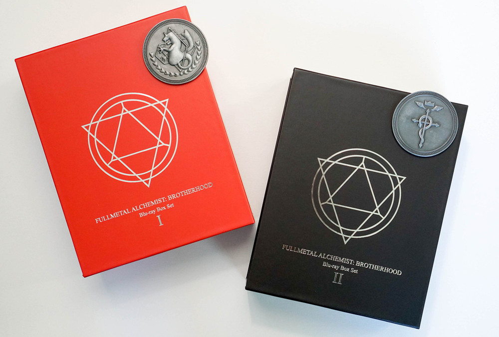 Fullmetal Alchemist Brotherhood Blu-ray Box Set giveaways
