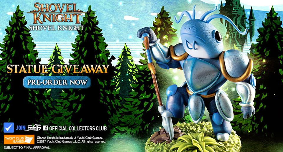 Shovel Knight Statue Giveaway