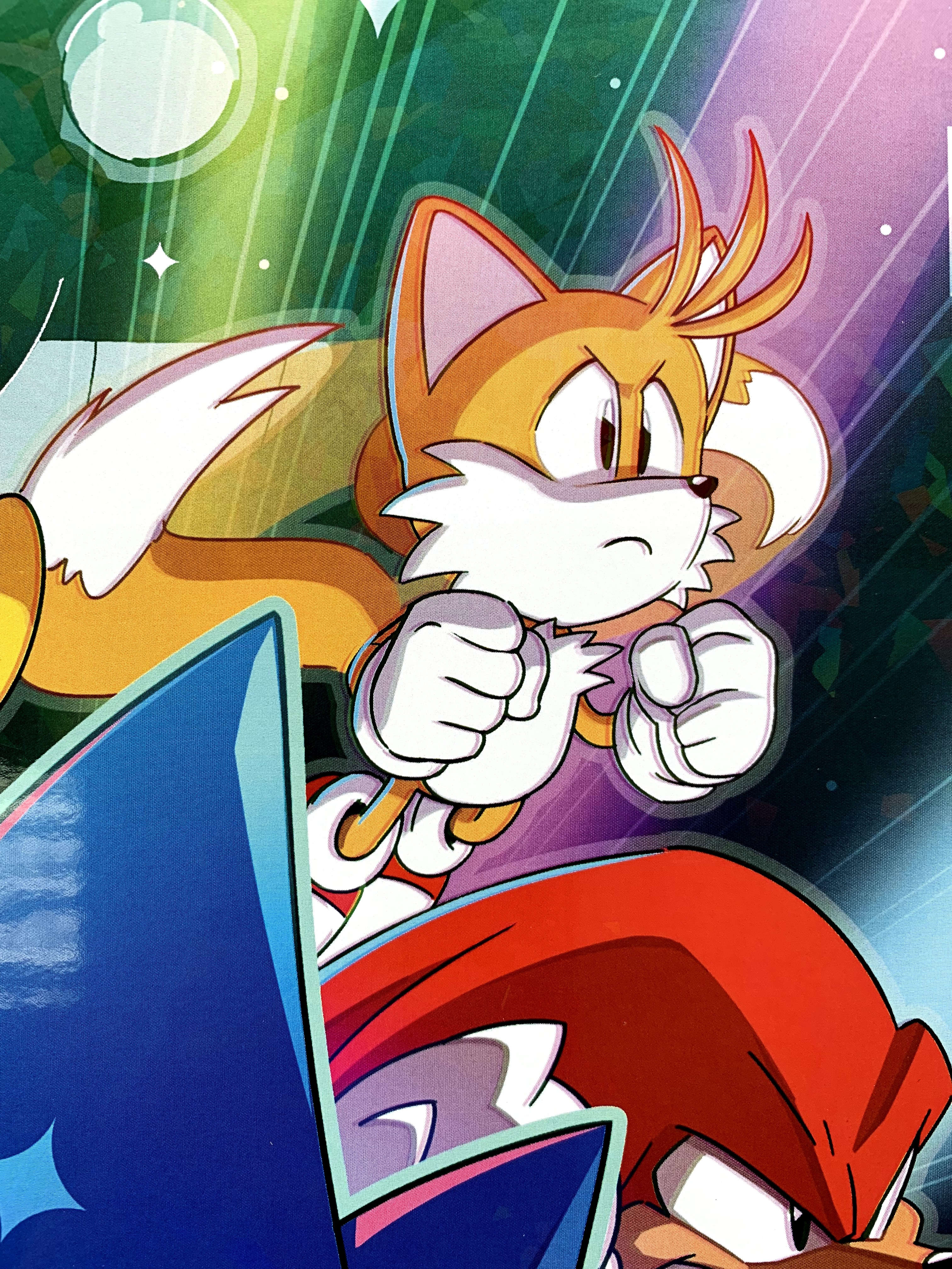 Sonic Mania art print signed by Tyson Hesse