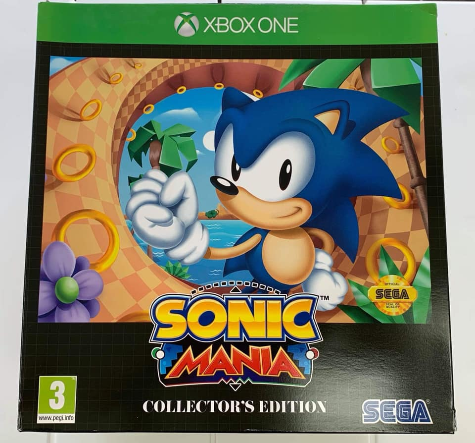 Xbox One Sonic Mania Collector's Edition