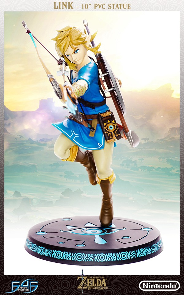 The Legend of Zelda: Breath of the Wild – Link Statue (Standard Edition)