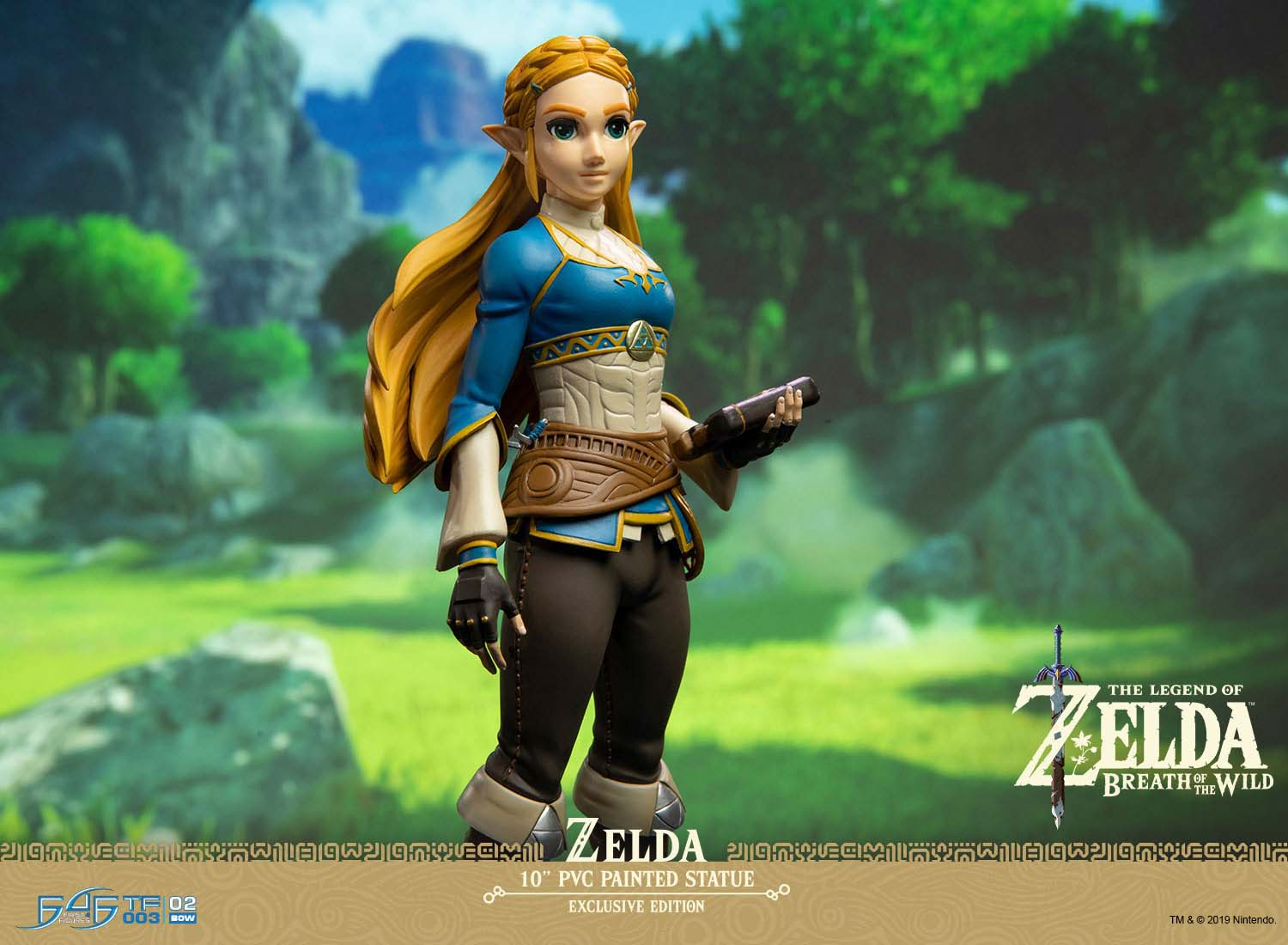 The Legend of Zelda: Breath of the Wild – Zelda Statue (Exclusive Edition)