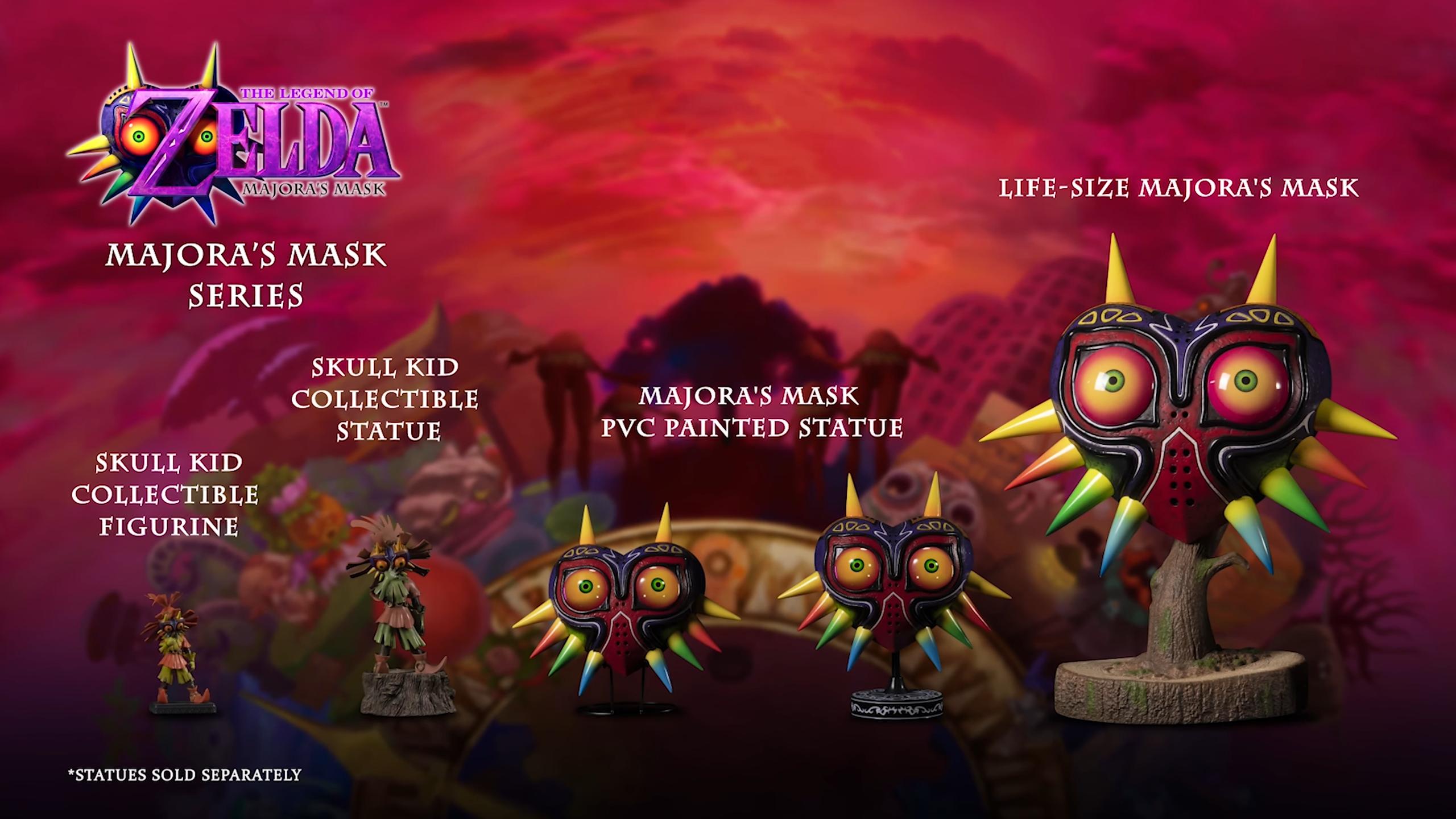 First 4 Figures The Legend of Zelda™: Majora's Mask PVC lineup