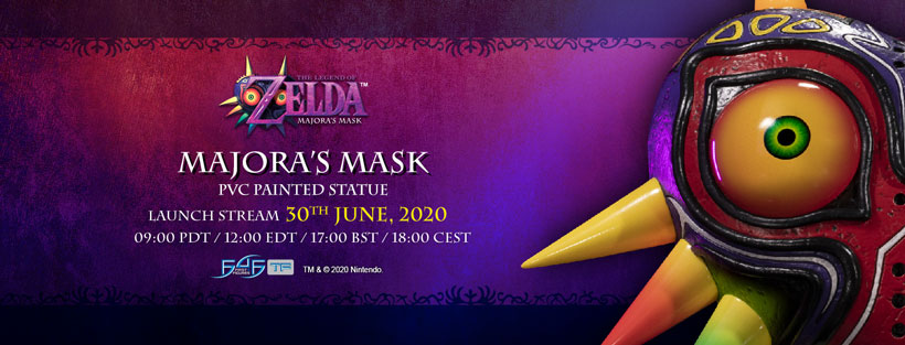 Launch date CONFIRMED for First 4 Figures' The Legend of Zelda™ – Majora's Mask PVC Statue!