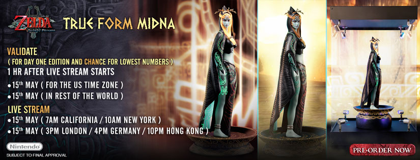 True Form Midna Pre-Order Now Live