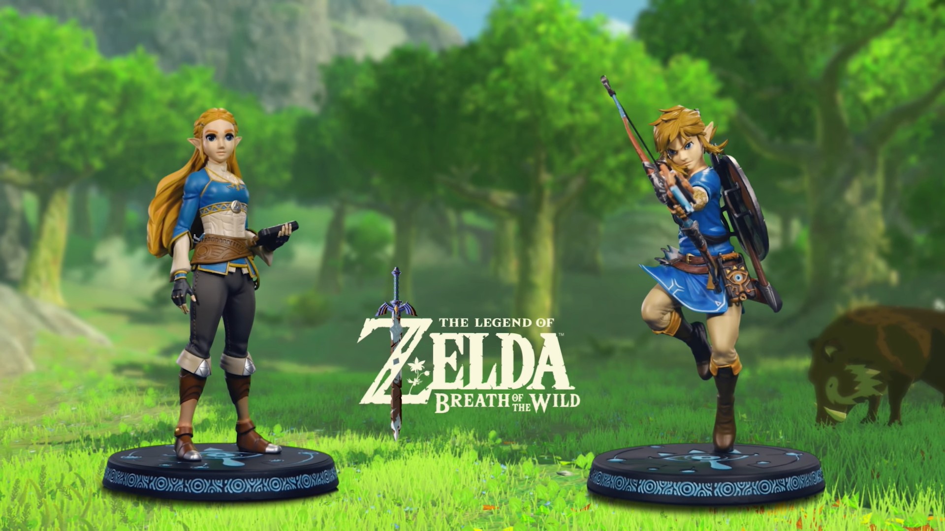 First 4 Figures The Legend of Zelda™: Breath of the Wild PVC lineup