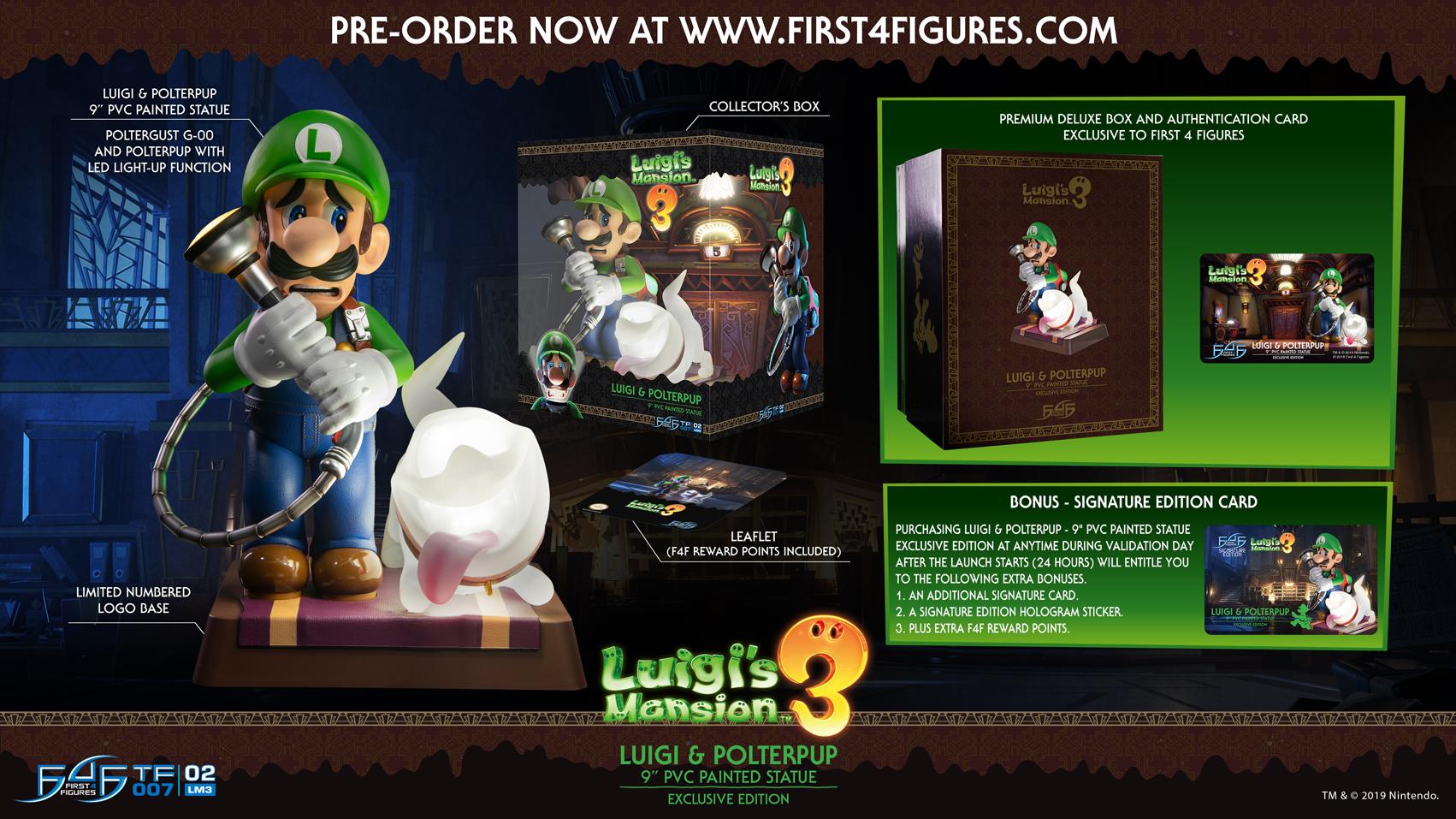 Luigi & Polterpup (Exclusive Edition)