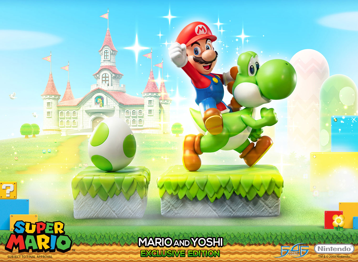 Mario and Yoshi (Exclusive Edition)