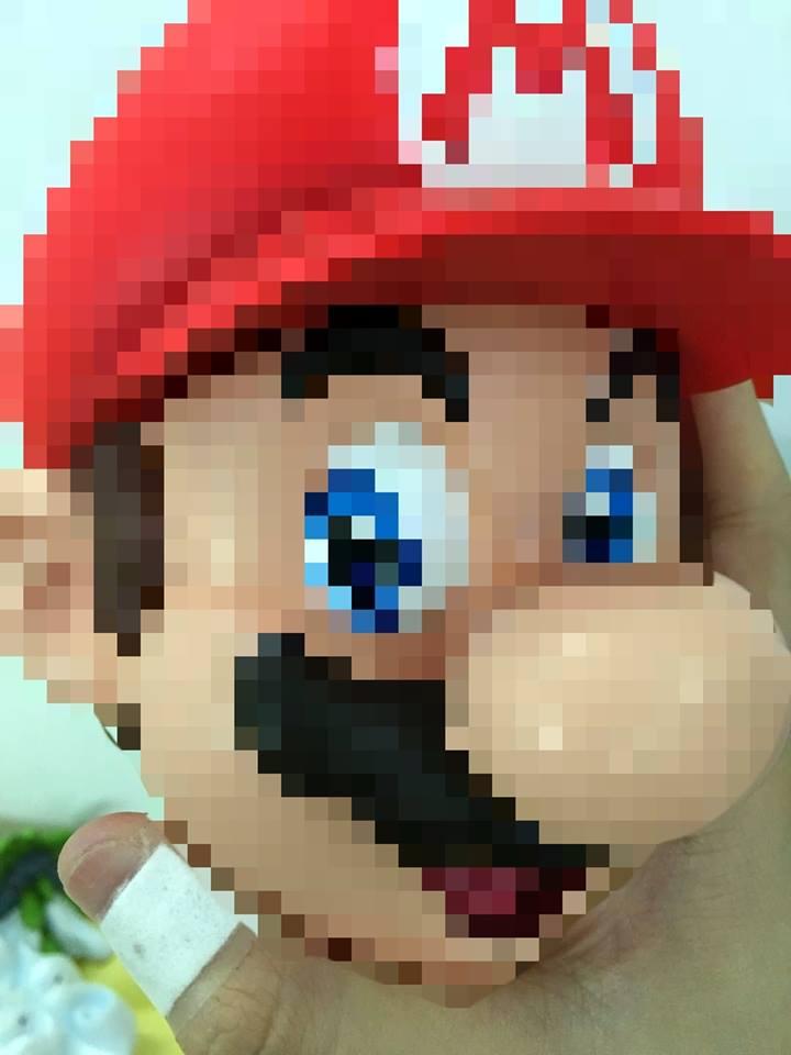 Mario scale sneak