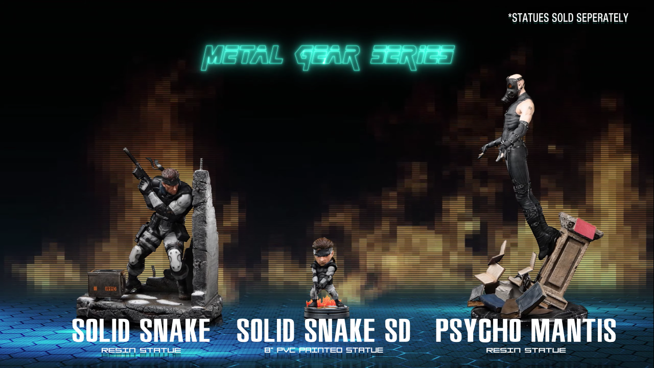 First 4 Figures Metal Gear lineup