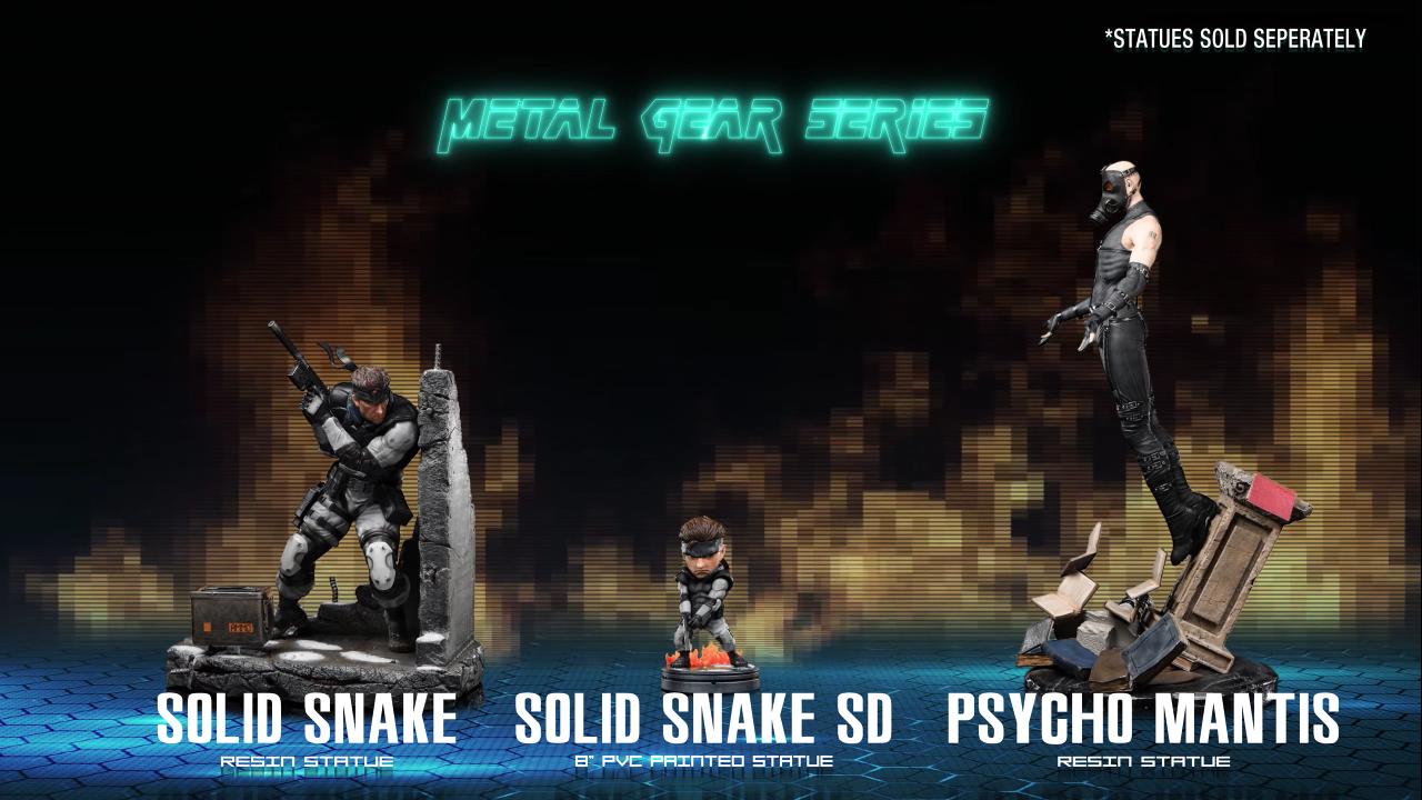 First 4 Figures Metal Gear Solid series