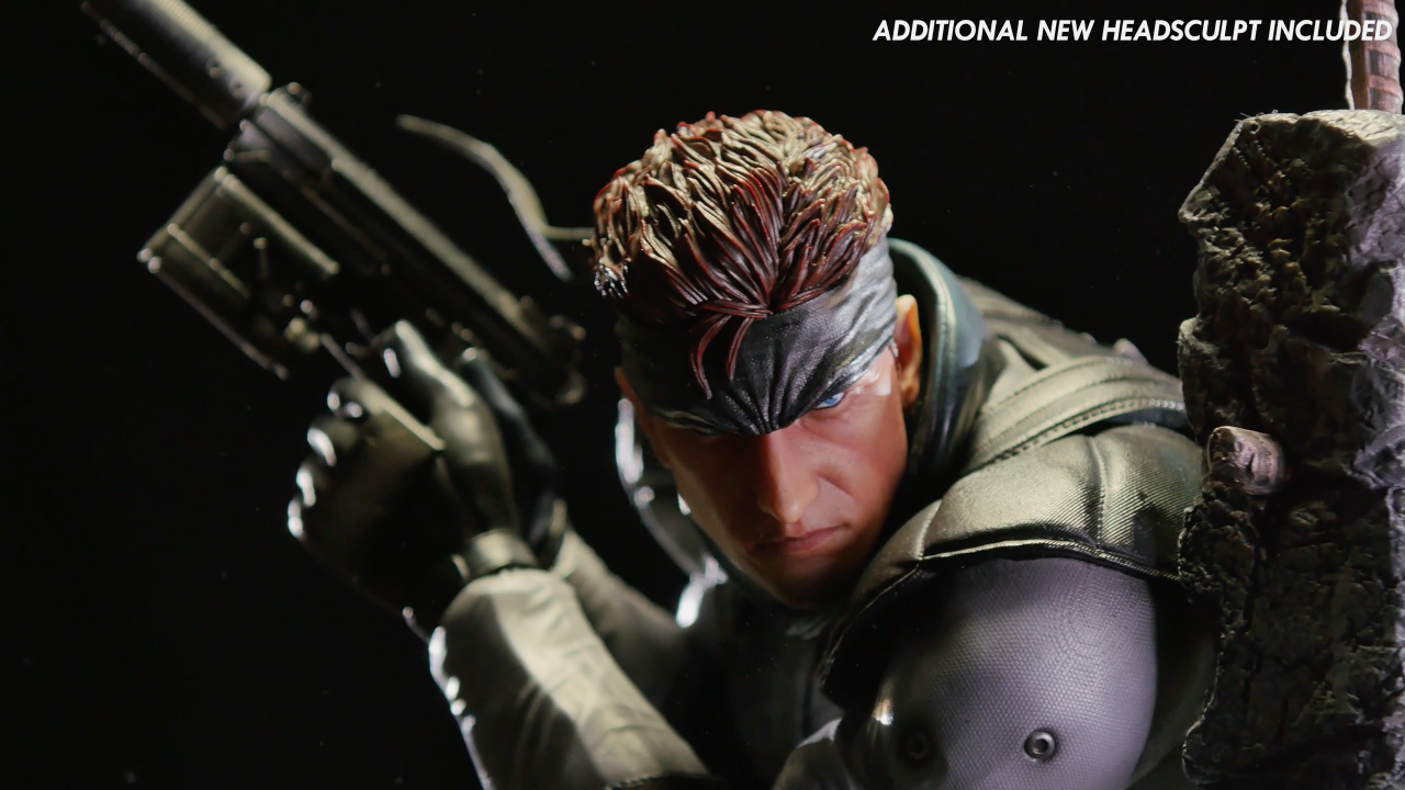 Solid Snake: New Additional Head Sculpt