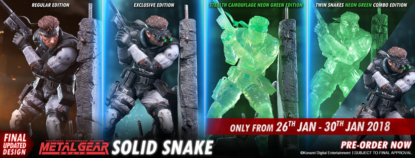 Solid Snake Relaunch Now Live