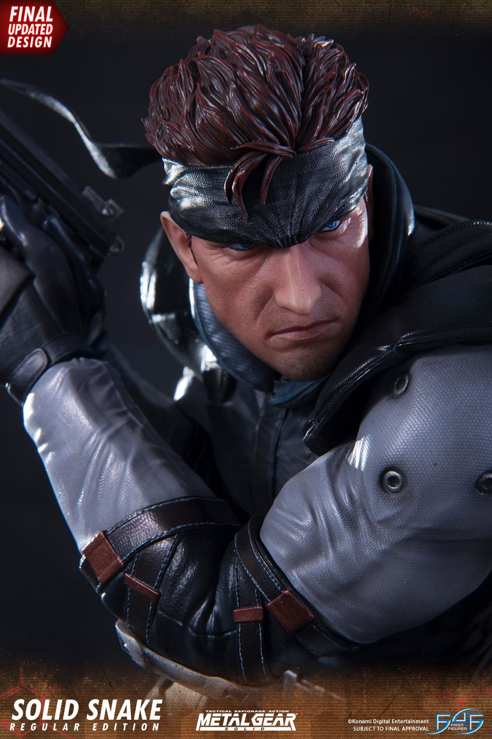Solid Snake from Metal Gear Solid by MrJoshBox on DeviantArt