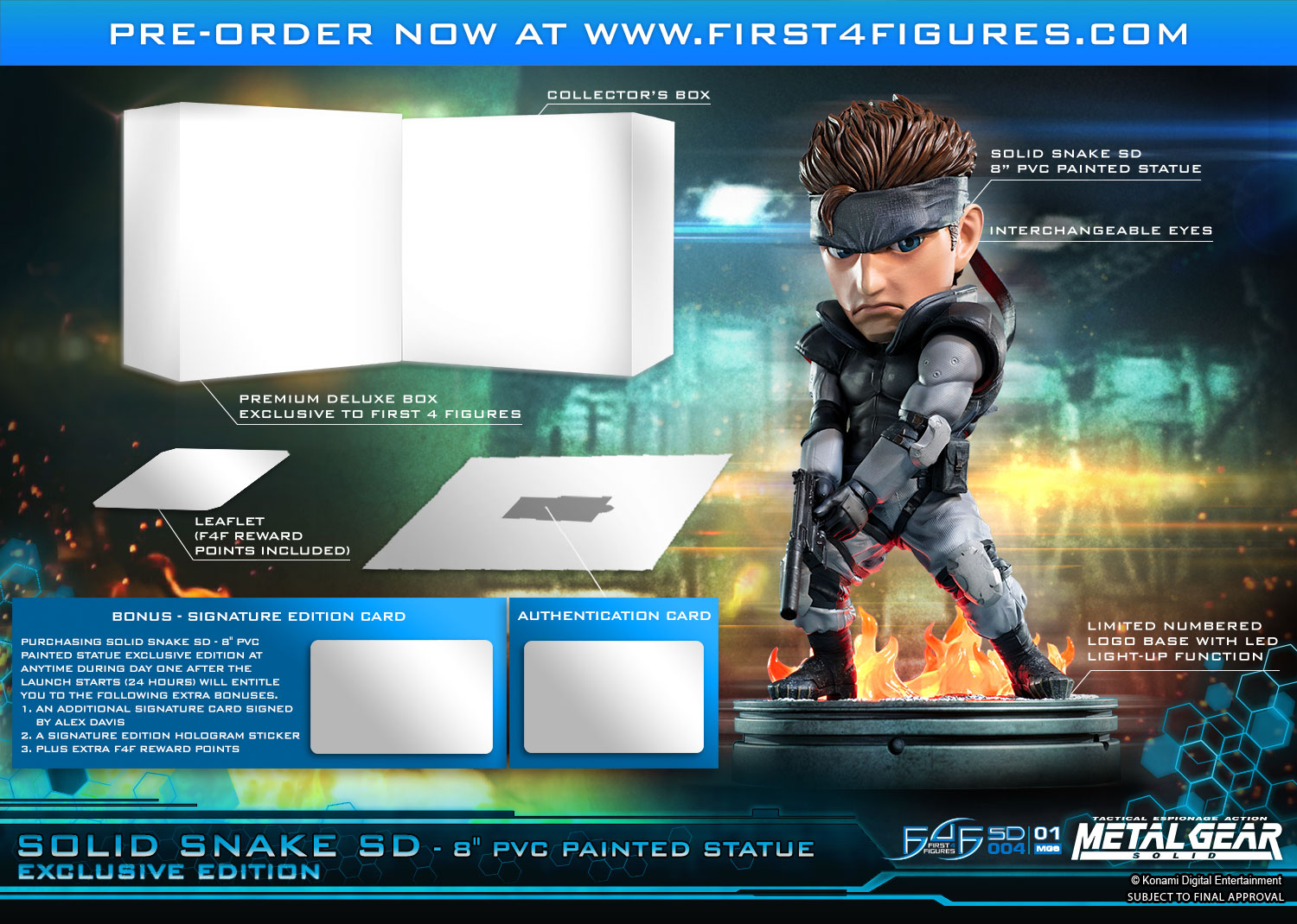 Solid Snake SD (Exclusive Edition)