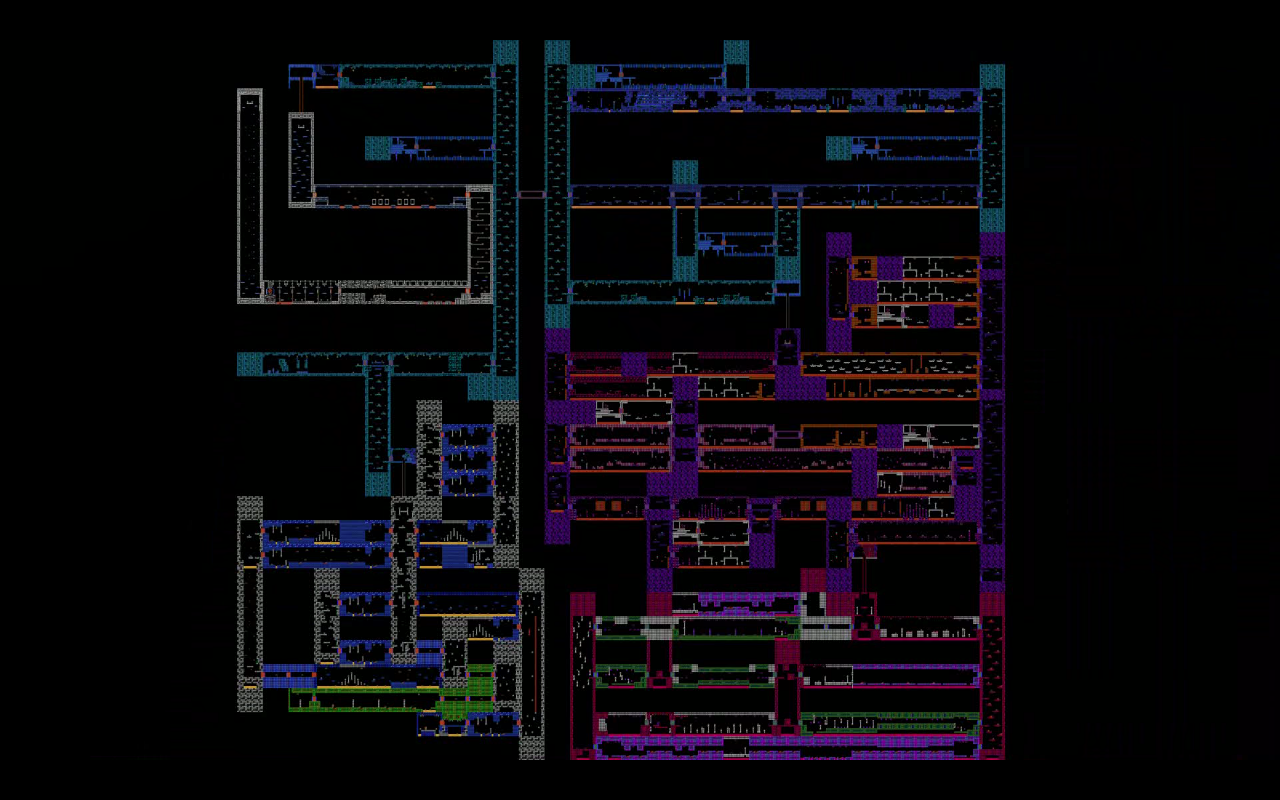 Metroid full map
