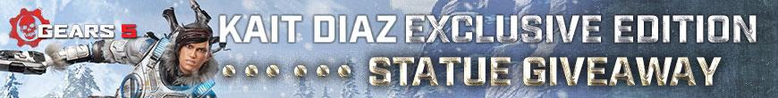 Kait Diaz (Exclusive Edition) Statue Giveaway