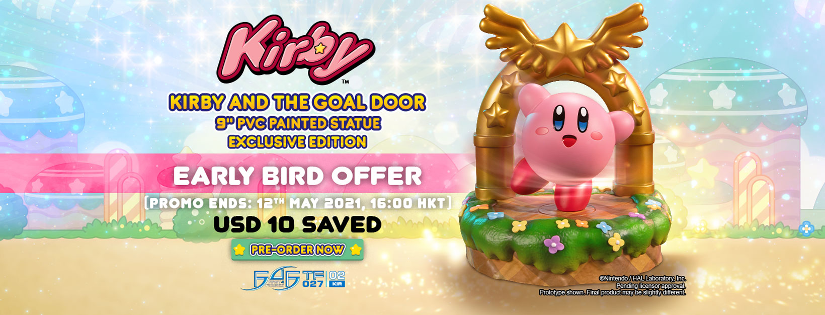 Kirby™ – Kirby and the Goal Door PVC statue Early Bird Offer