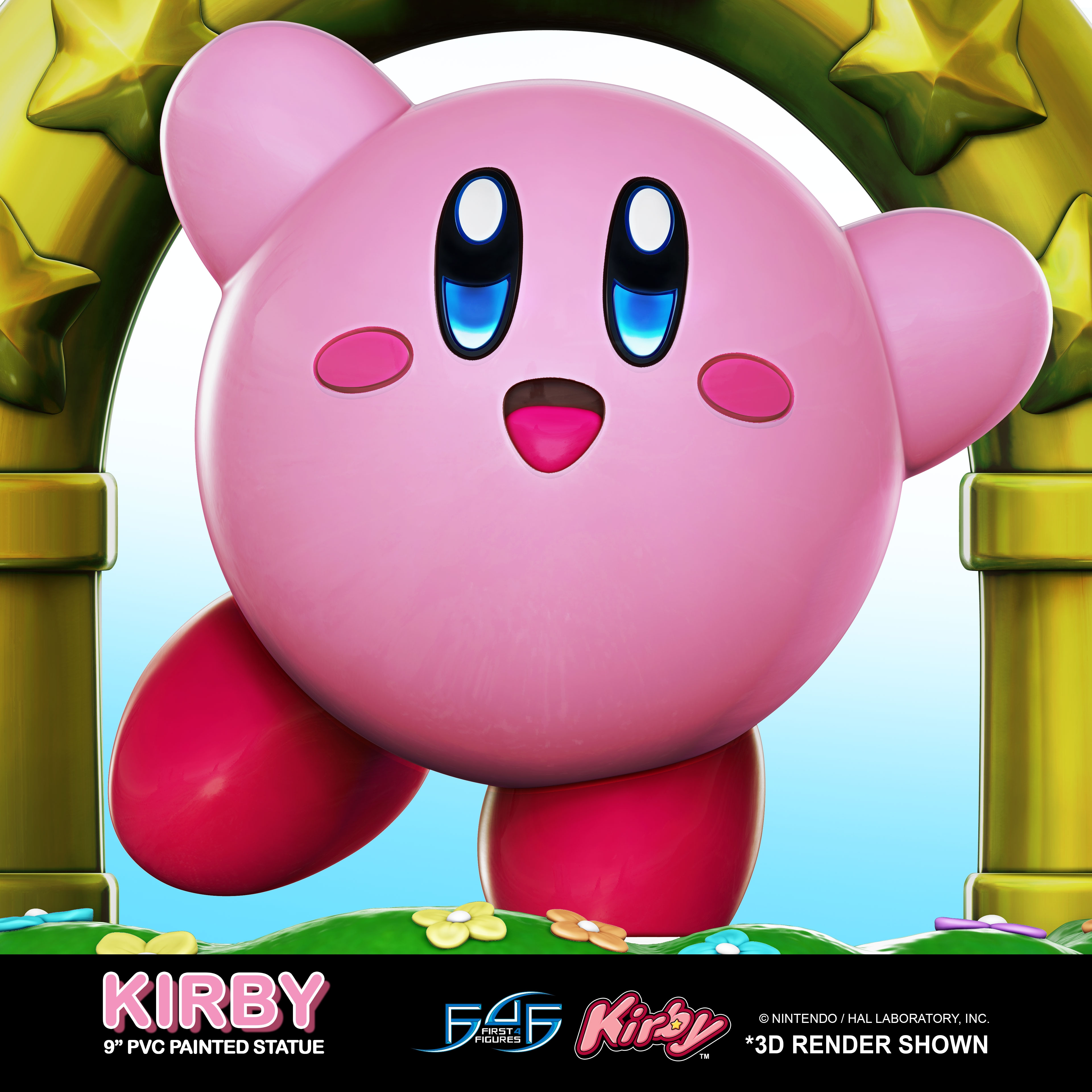 A First Look at First 4 Figures' Kirby – Kirby PVC Statue