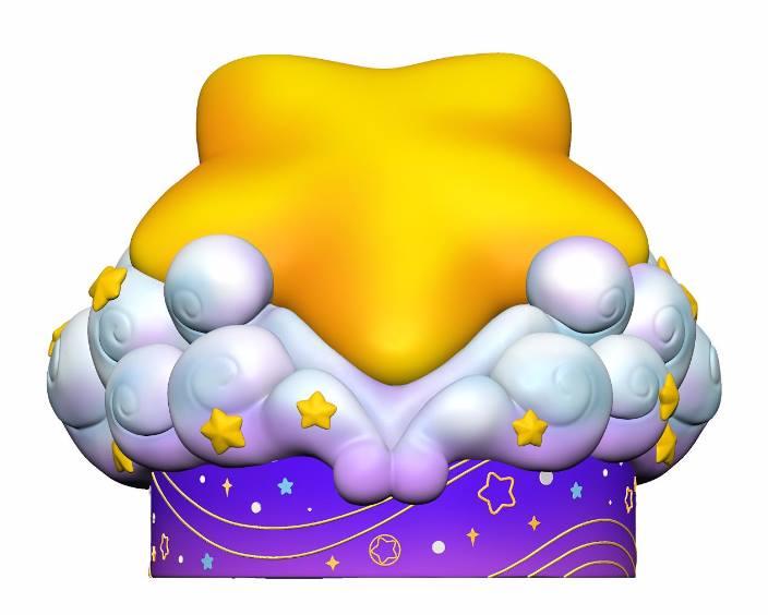 Warp Star Kirby base