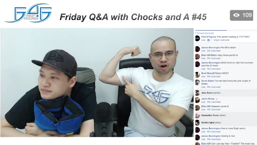 Recap: Friday Q&A with Chocks and A #45 (November 17, 2017)