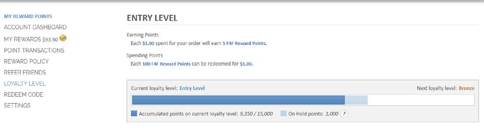 Loyalty Rewards System Upgrade
