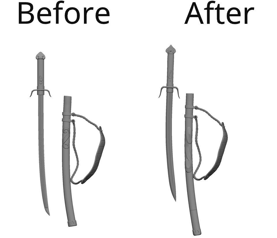 Mugen Sword Changes