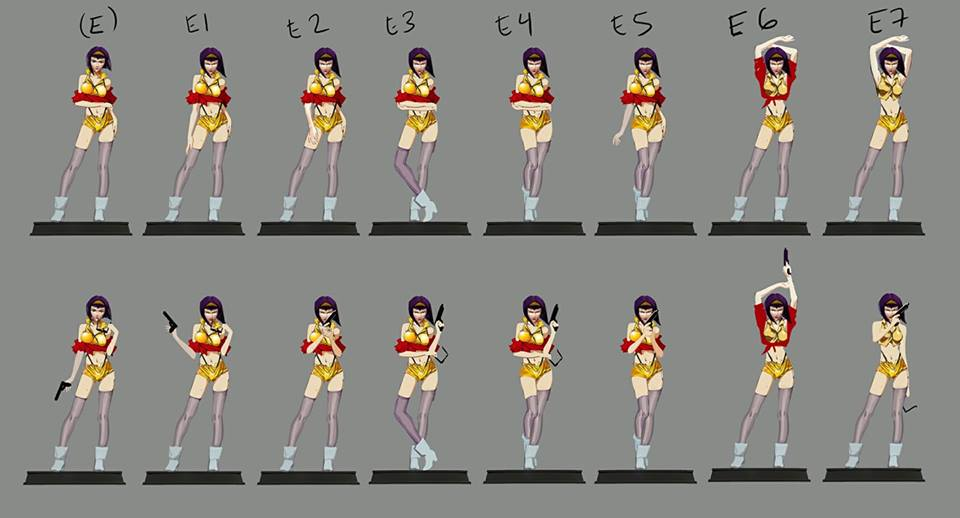 Faye Valentine 3.0 Poll Choices