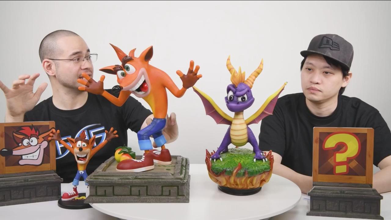 Crash vs. Spyro Size Comparison