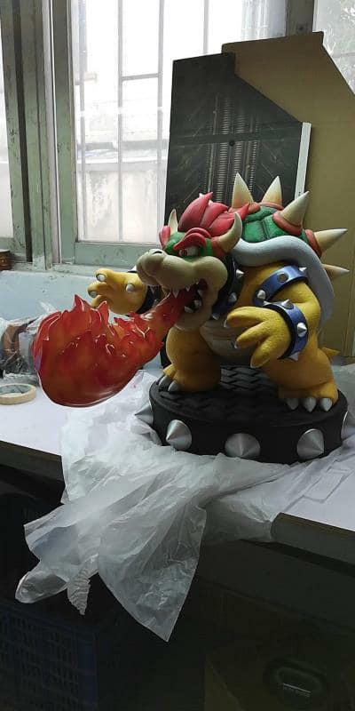 Bowser Flame Tweak
