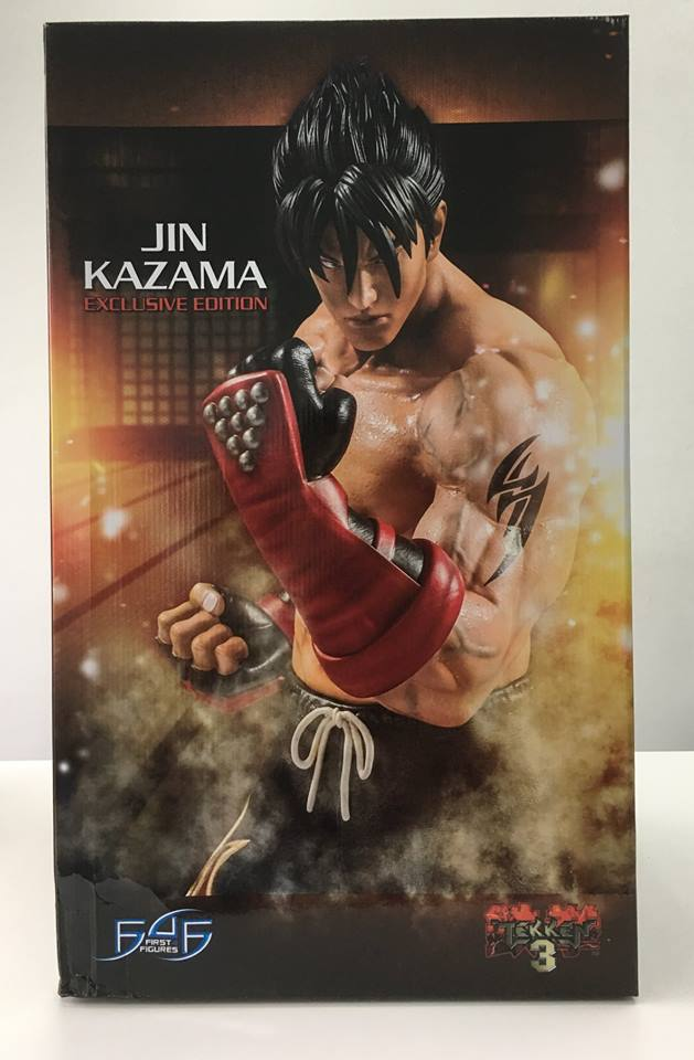 Jin Kazama (Tekken 3) Packaging