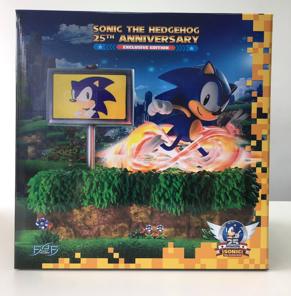 Sonic 25th Anniversary Packaging