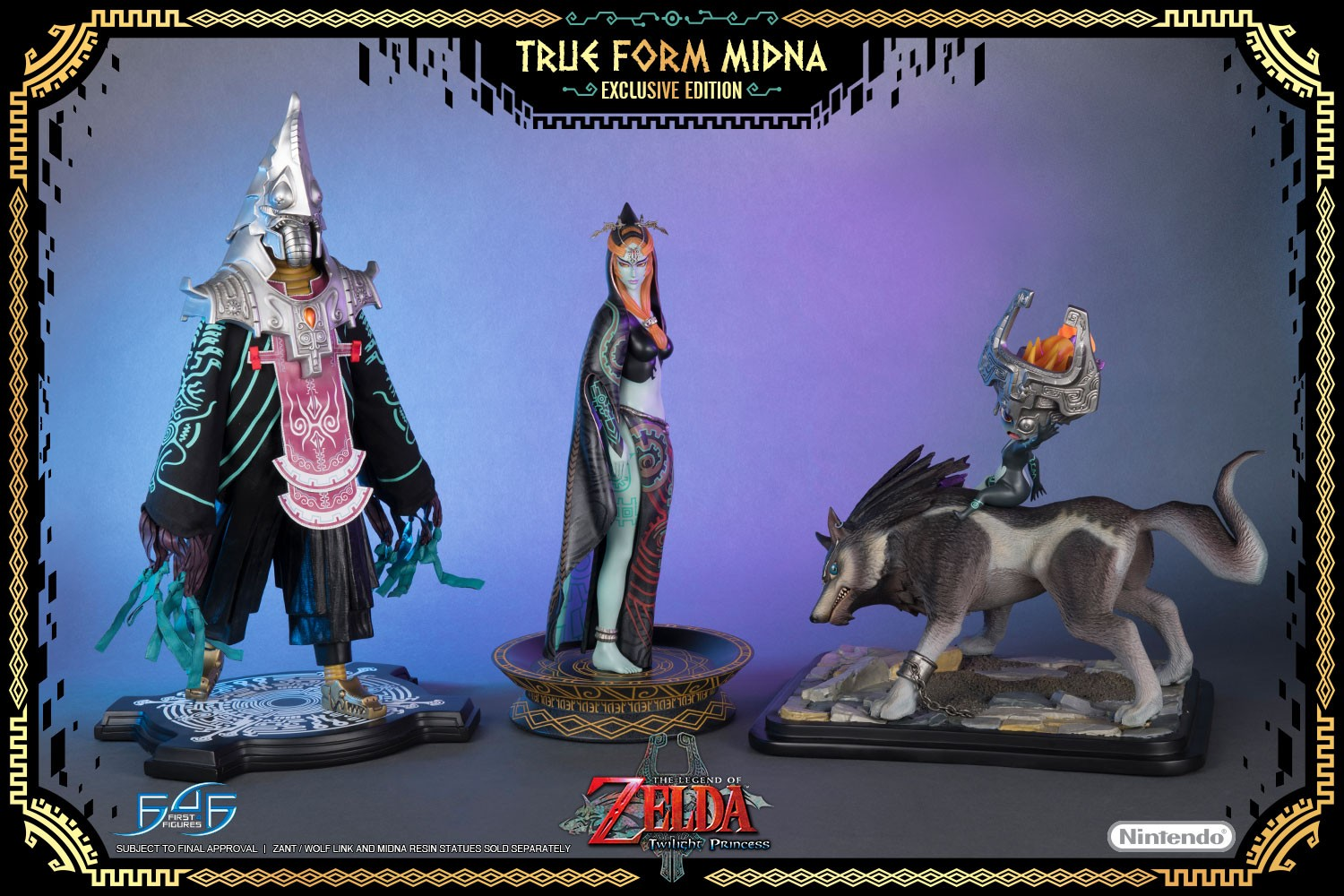 True Form Midna Scale