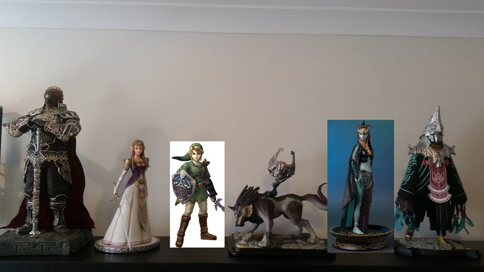 F4F Legend of Zelda: Twilight Princess line