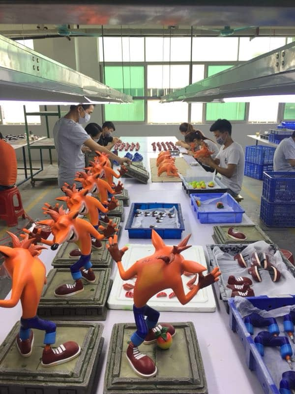 Crash (Resin) production started