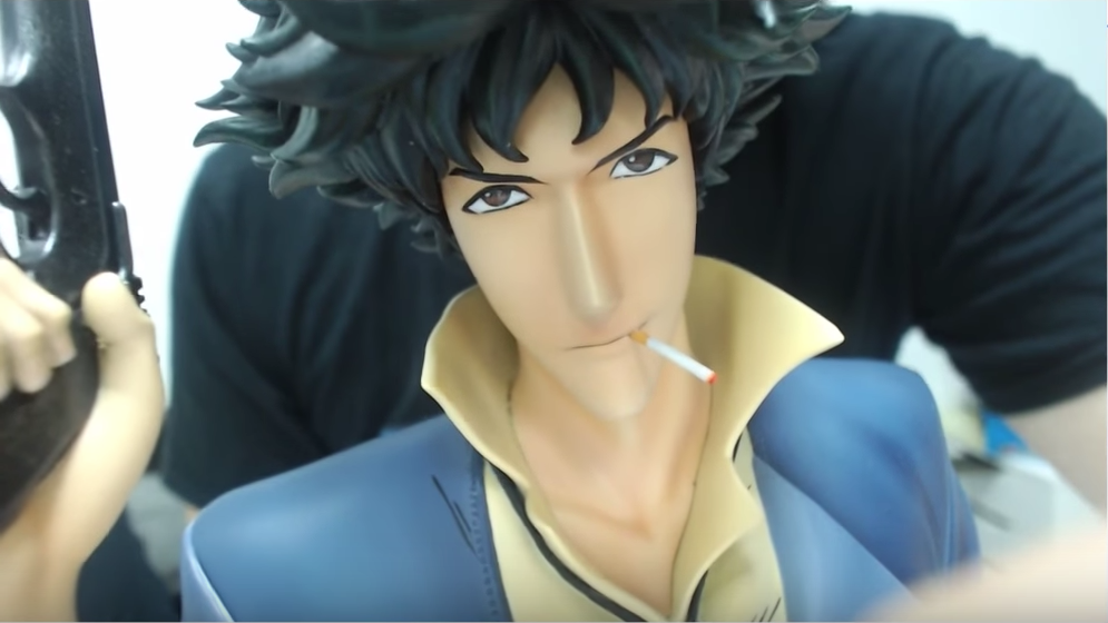 Spike Spiegel eyes