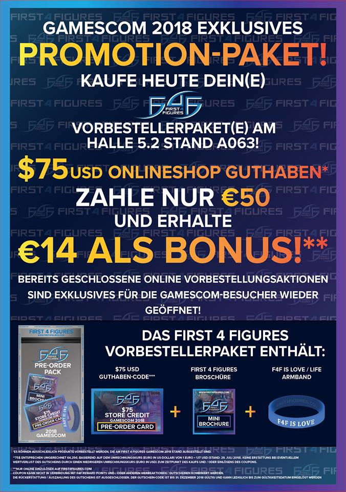 Gamescom 2018 F4F flyer (German)